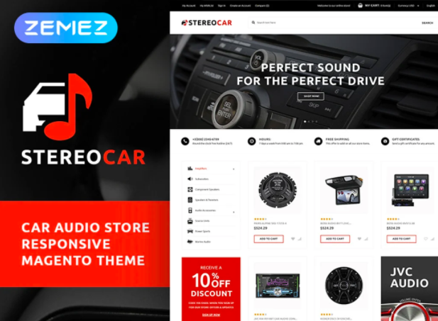 stereo-car