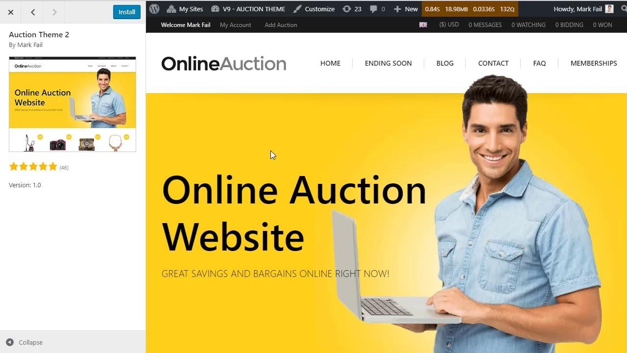 magento-auction-theme