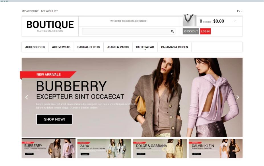 Clothes-boutique-magento-theme