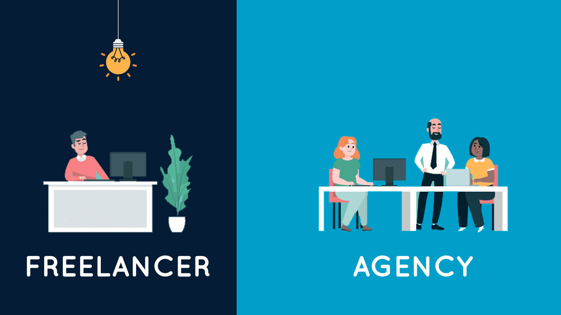 FREELANCERS-VS-AGENCIES