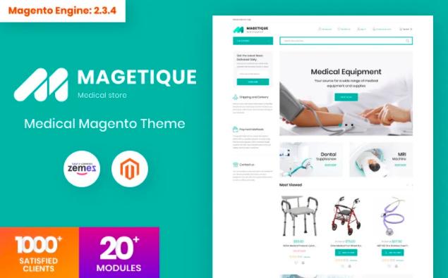 magetique-medical-theme