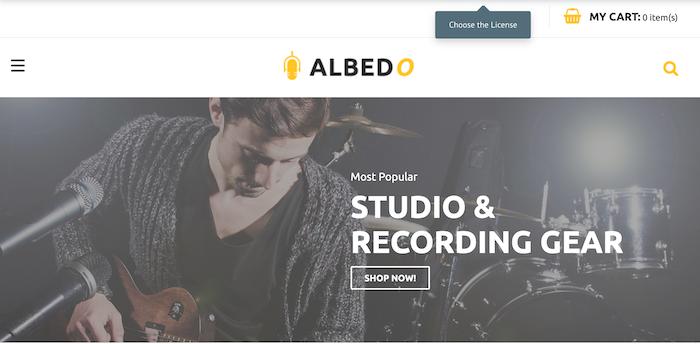 Albedo-Magento-Theme