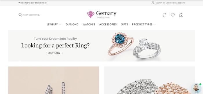 Gemany-Magento-Jewelry-Theme