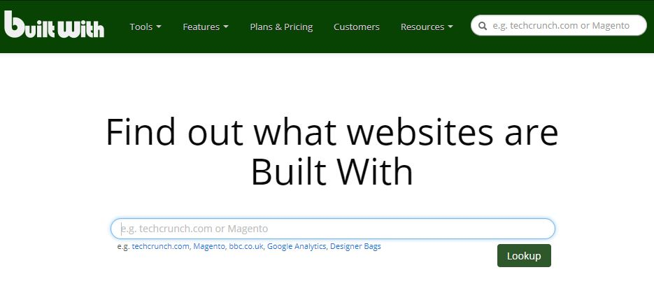 builtwith-homepage