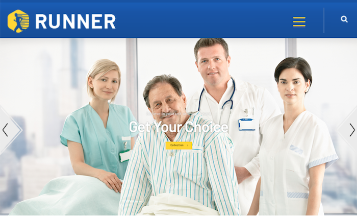 magento-health-care-theme-runner