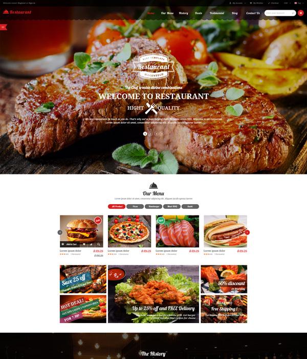 magento-restaurant-theme