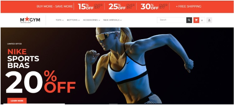 magento-sport-website