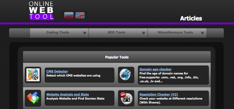 online-web-tool