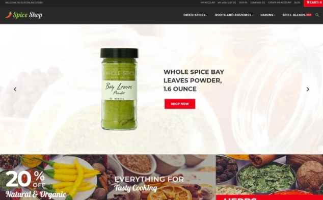spices-store-grocery-theme