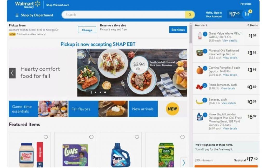 Walmart-online-website