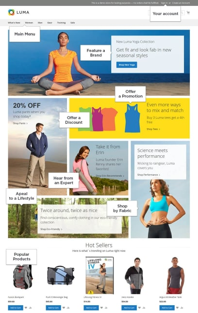magento-homepage