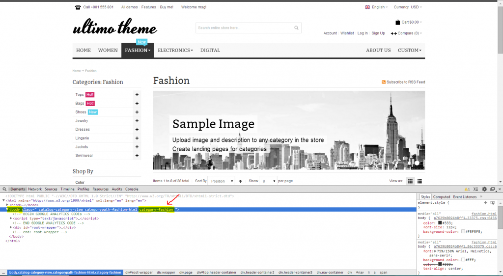 ultimo-theme-advanced-features