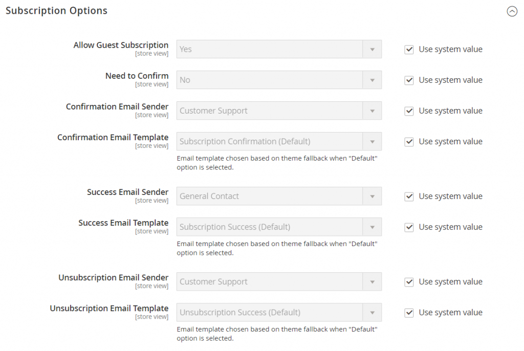 config-customers-newsletter-subscription-options