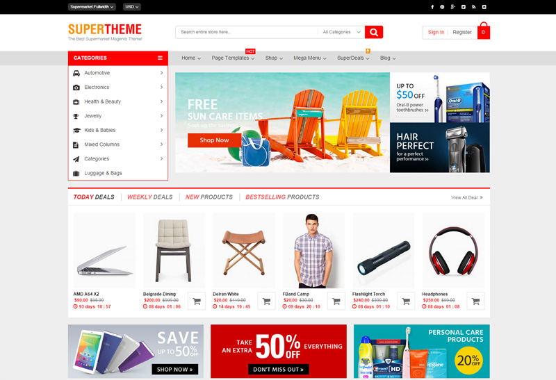 supertheme-magento-theme