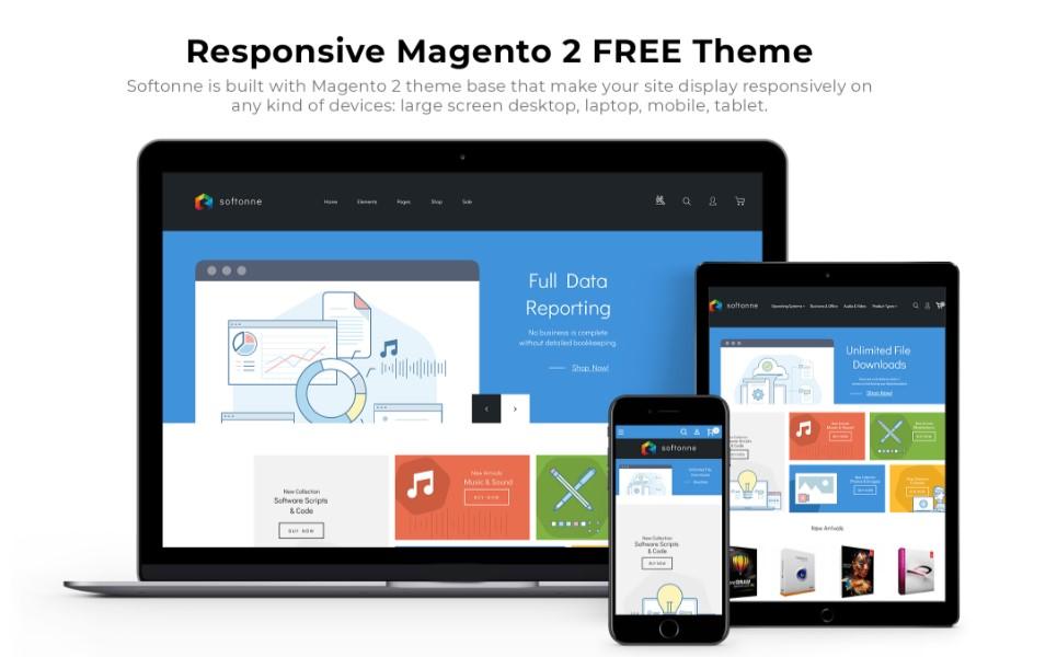 Magento-softonne-free-theme