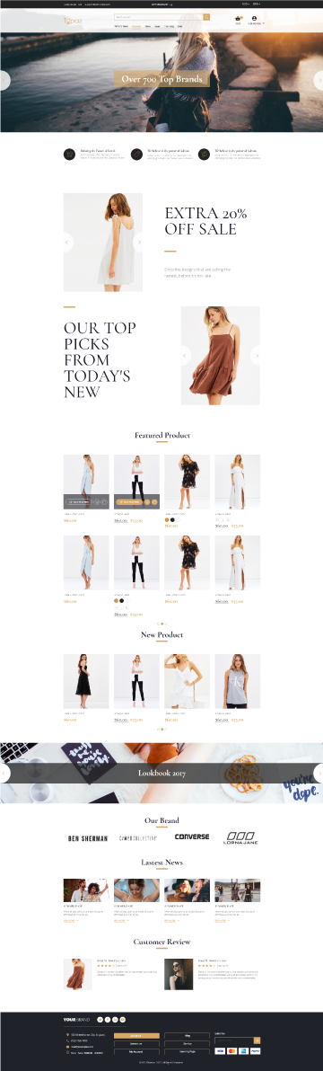 magento 2 theme topaz screenshot 1