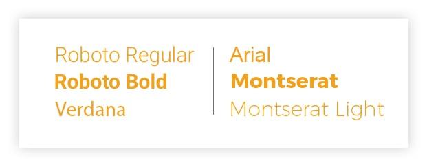 Magento 2 theme Citrine Typography