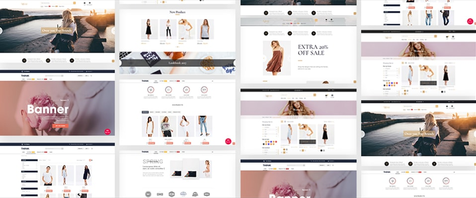 Magento 2 Theme Topaz and Thinnk included