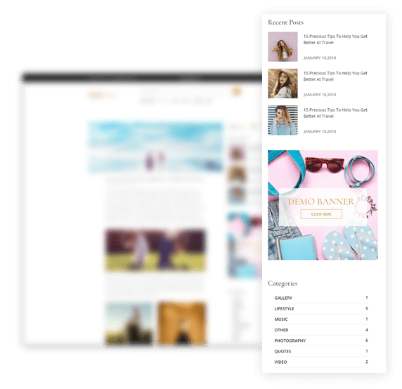 Elegan Blog Topaz Theme