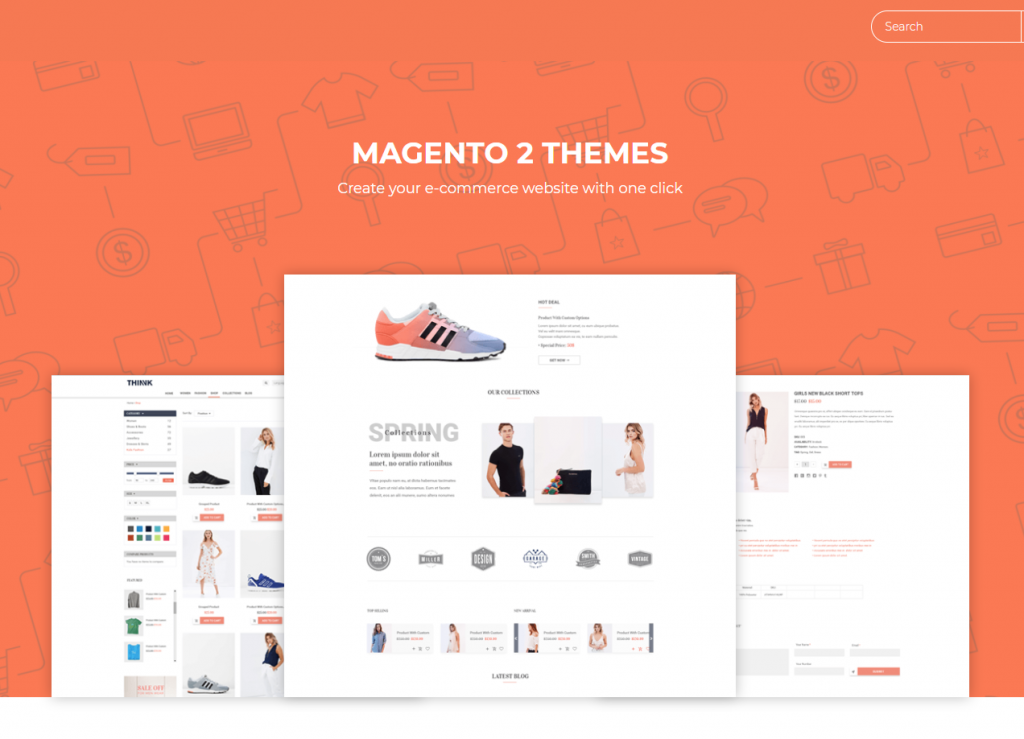 finding themes in company sites to change magento 2 theme