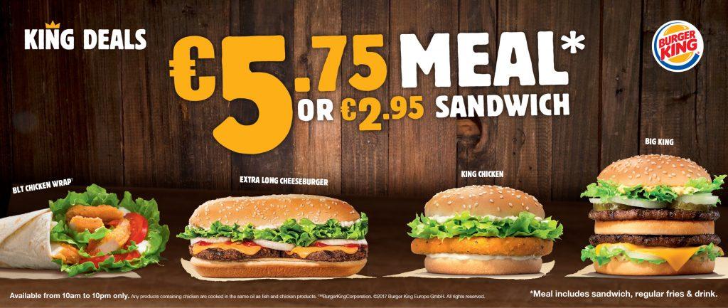 Burger King banner in choosing premium Magento 2 theme design