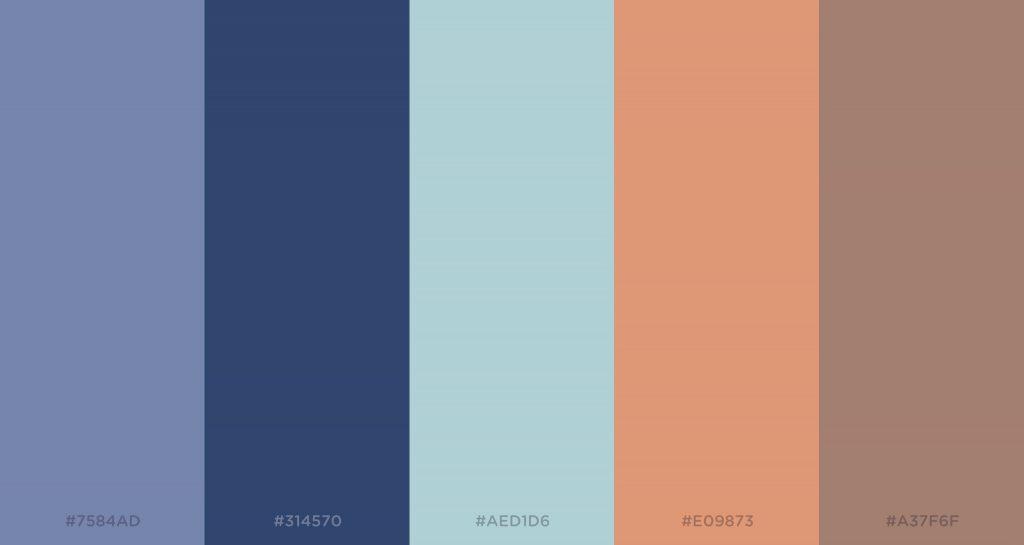 color palette in choosing premium Magento 2 theme design