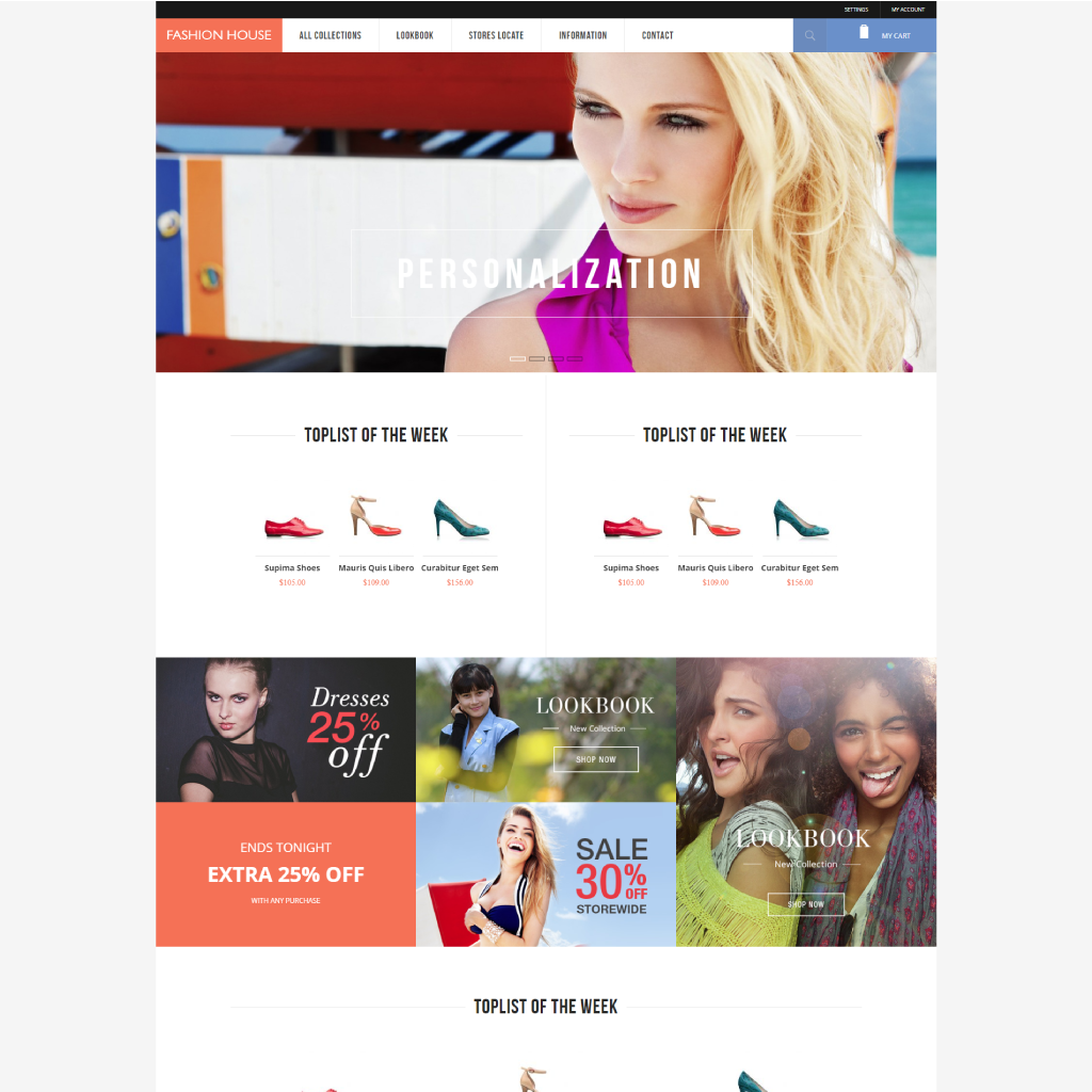 Fashion House - Free Magento 2 Theme