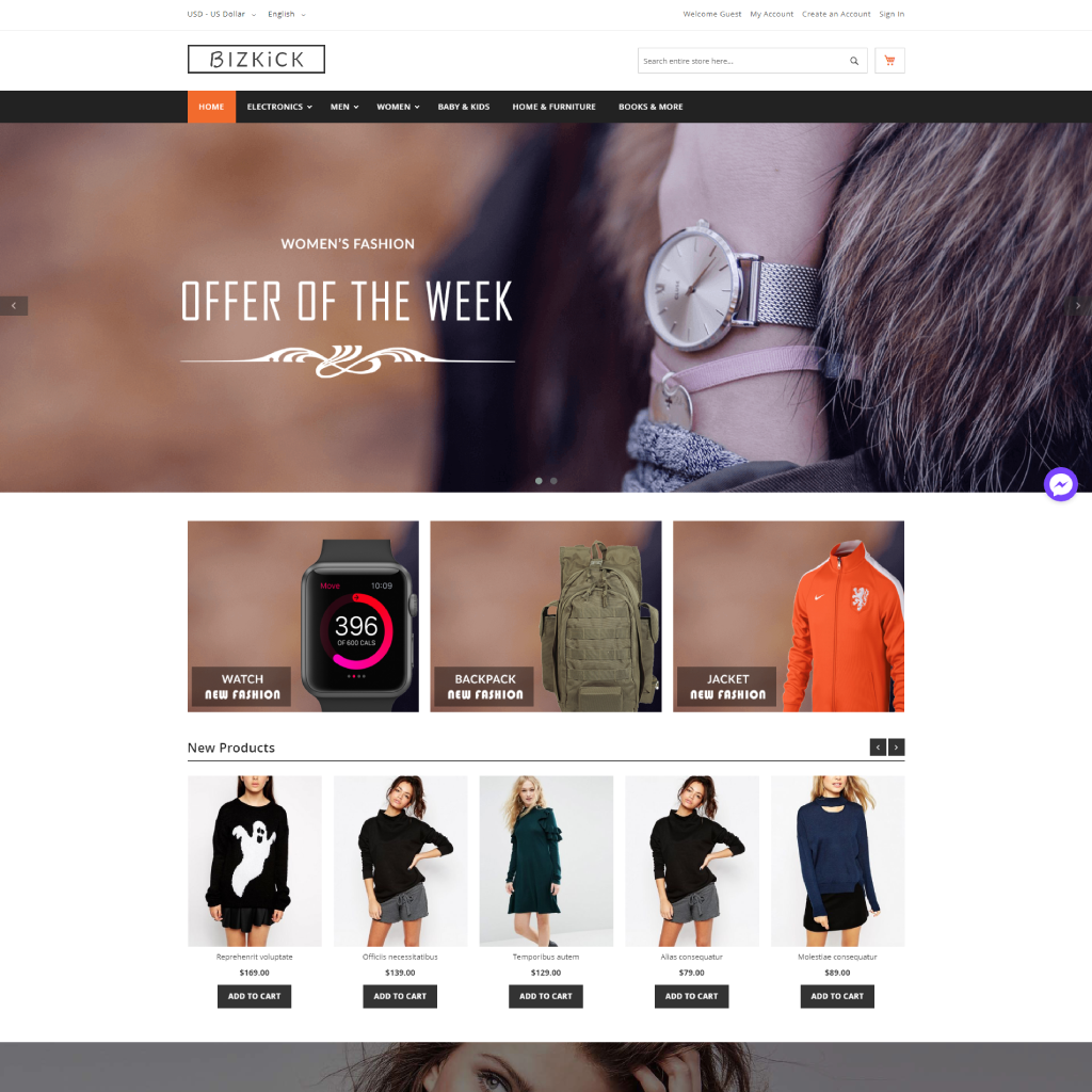 magento-2-free-themes-comparison-bizkick