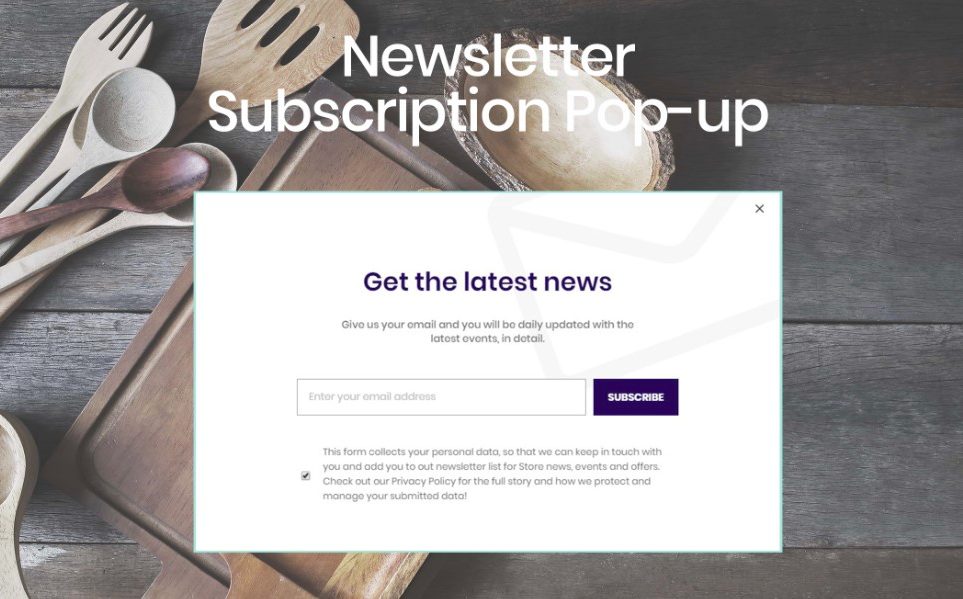 Magento-b2b-theme-newsletterpopup