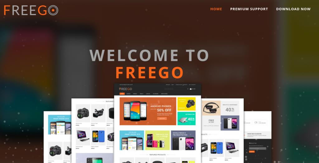 Magento 2 theme responsive FreeGo
